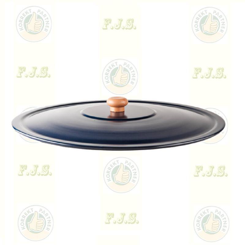 fedő zománcos, Ø38 cm. 14 literes gulyásbográcsra