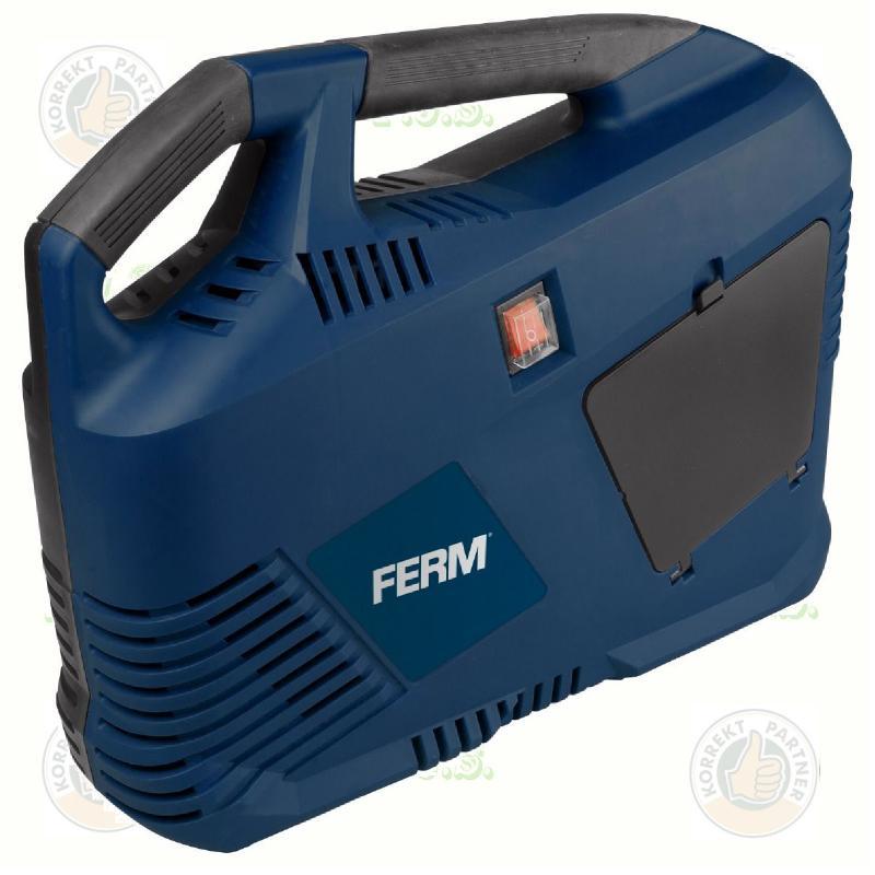 FERM CRM1044 kompresszor, 8L, olajos, 1,1 LE, 750 W, 8 bar
