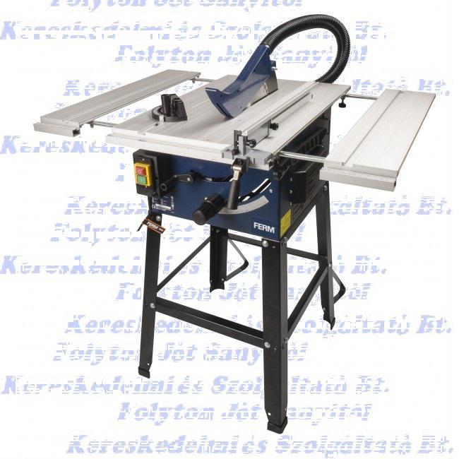 FERM TSM1033 Asztali körfűrész, 1800 W, 250 mm