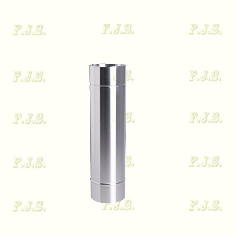 füstcső Ø160/ 50 Vastag falú 1 mm natúr