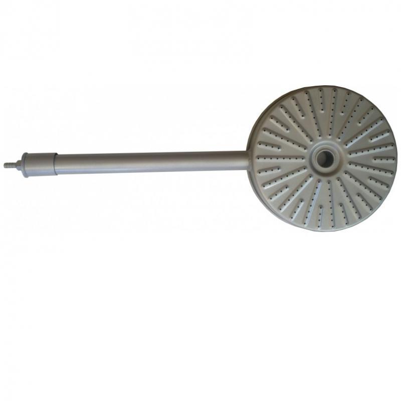 Gázégő rózsa, szőnyeglánggal Ø 20 cm