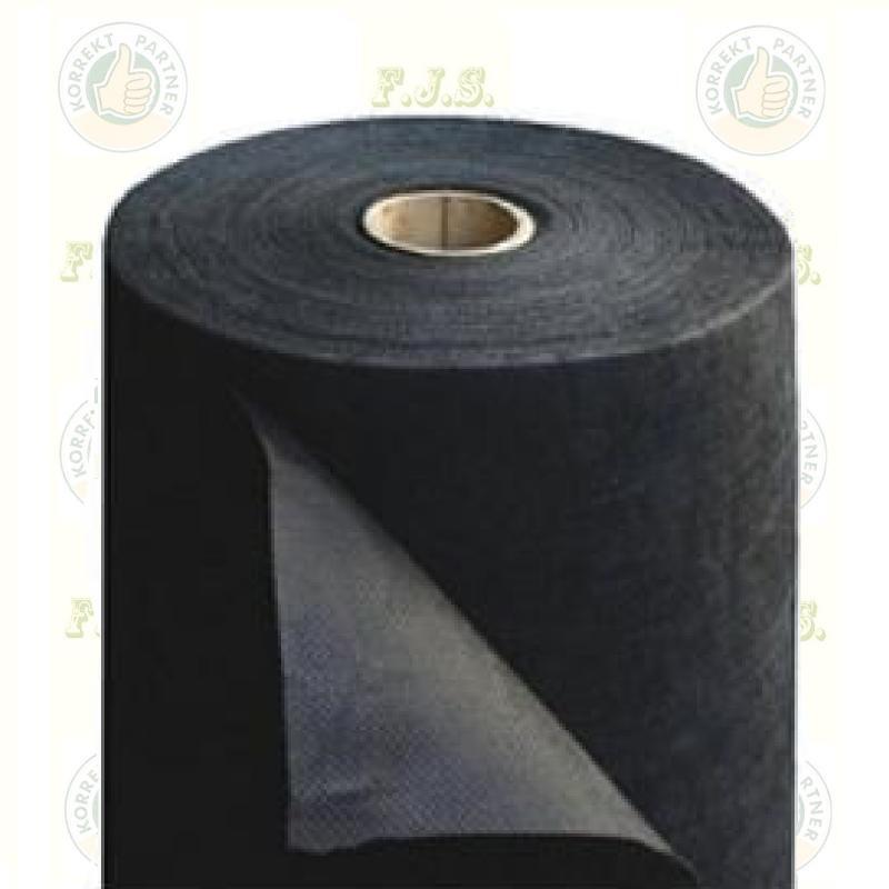 Geotextília 1.6x10m 80g/m2 UV stabil fekete