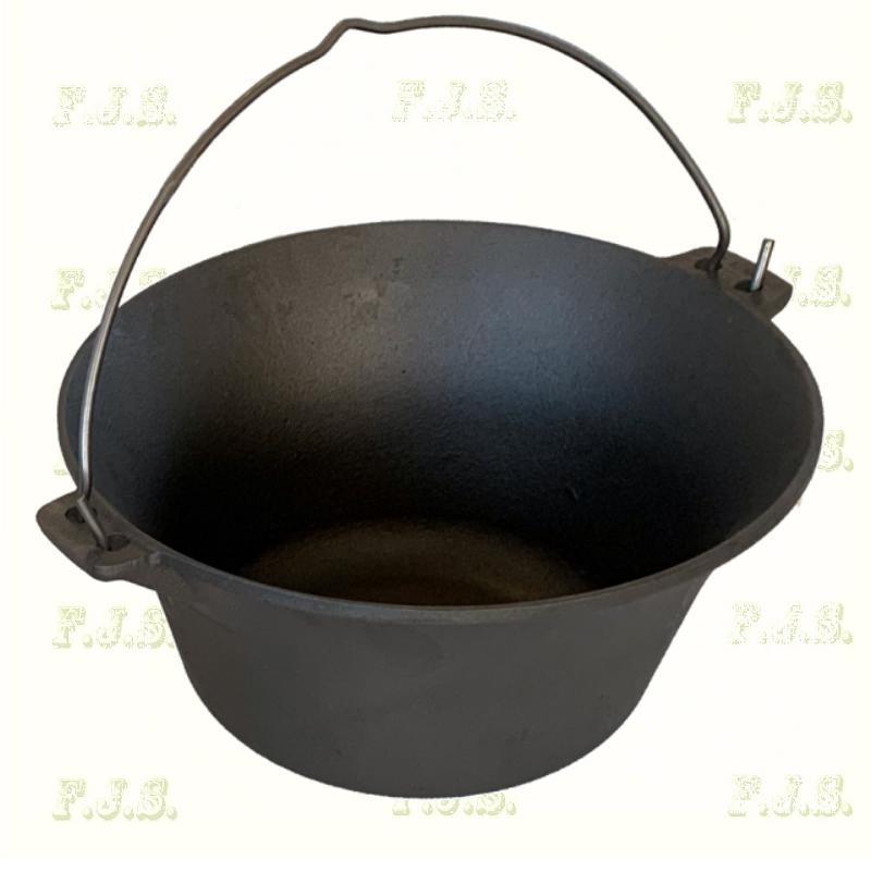 gulyásbogrács  7,2 literes Öntöttvas bogrács