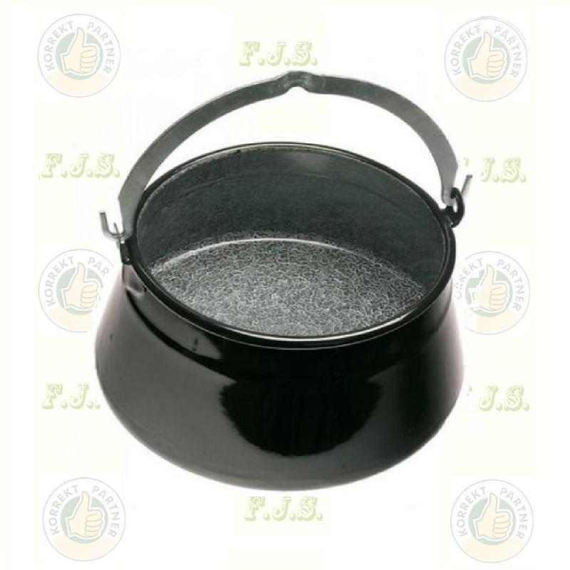 halfőzőbogrács  6 literes gránitzománcos