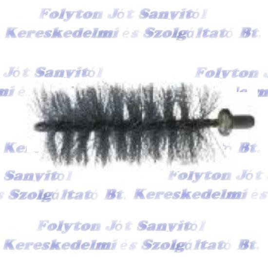 Hődob hőfokozó tisztító kefe cserélhető fej Ø 40mm Forrcsőkefe fej