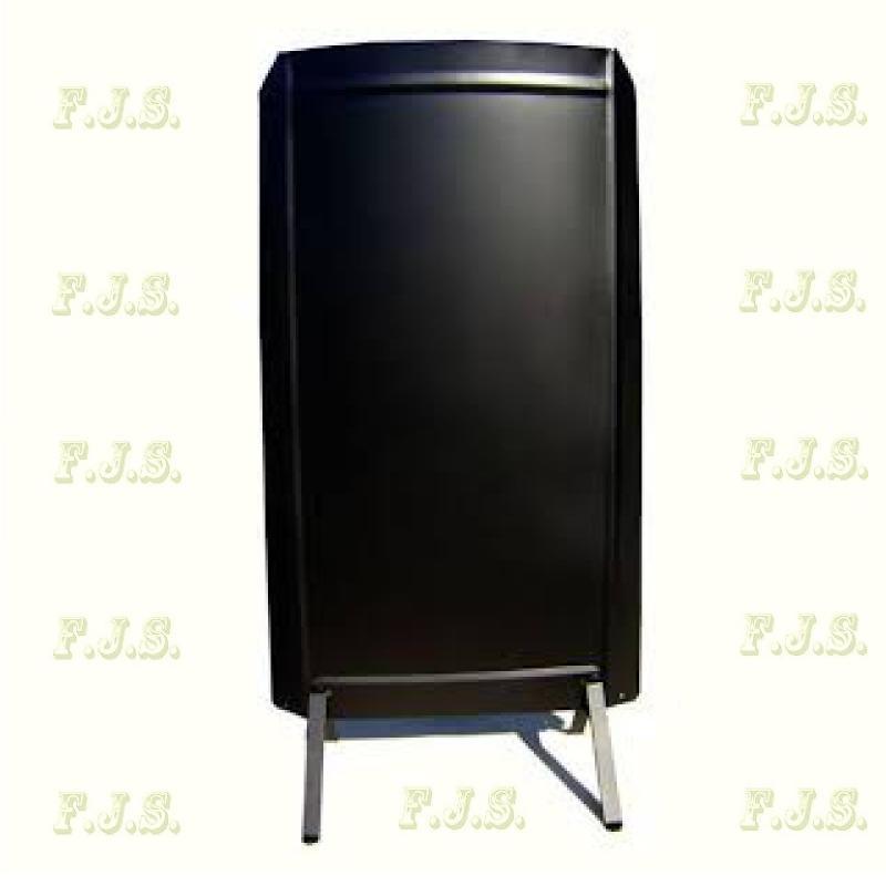 Hőellenző fekete (matt) színü 90 x 45 cm