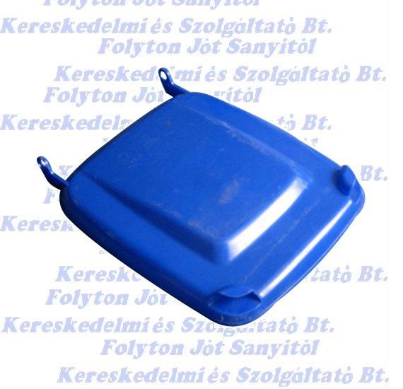 Hulladéktárolóhoz, Külső szemetes kukához 120 l  kék fedél 120l.
