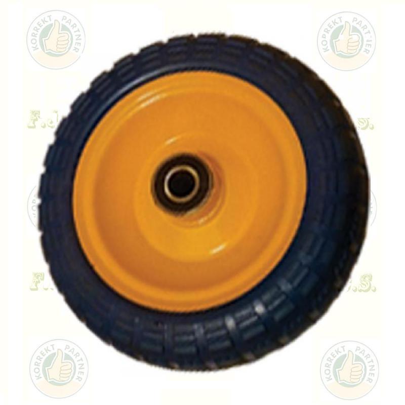 KERÉK Ø260 Tömörgumis fém felnis tűgörgős (molnárkocsihoz)