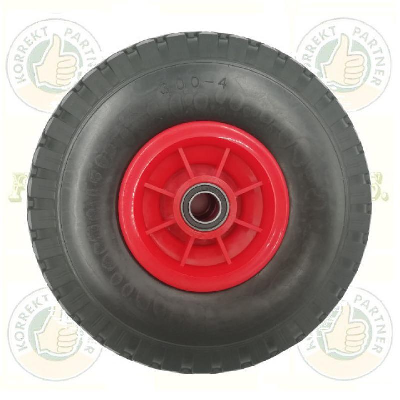 KERÉK Ø260 Tömörgumis műanyag felnis tűgörgős (molnárkocsihoz)