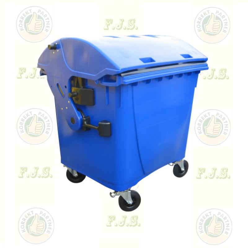 konténer 1100 literes kék műanyag