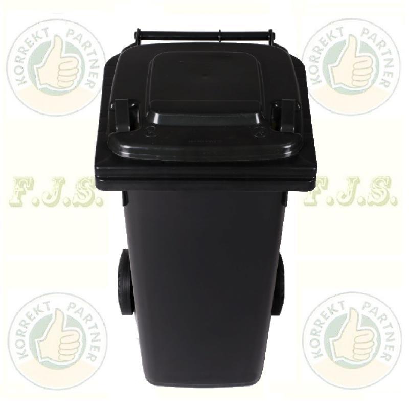 Kuka 120 l. fekete (antracit) kültéri szemetes CE