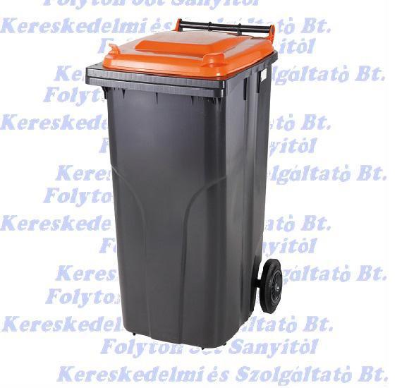 Kuka 120 l. hulladéktároló tetrapack műanyag 120l. kültéri
