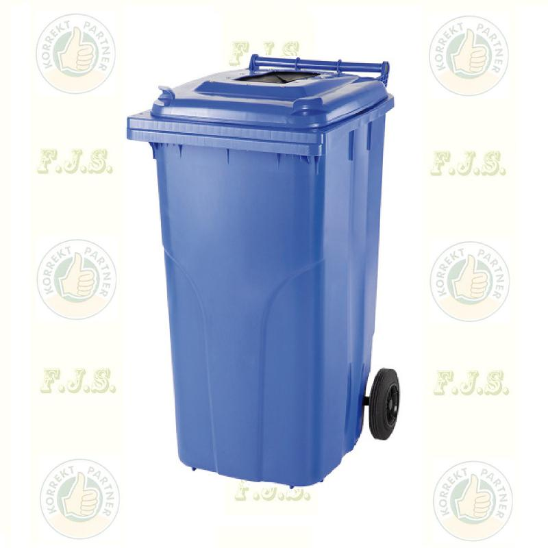 Kuka 120 l. kék, szelektív papír-hulladékgyűjtő CE