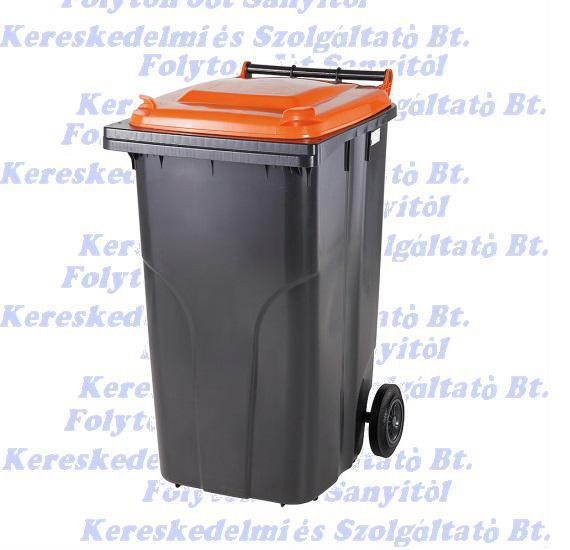 Kuka 240 l. hulladéktároló tetrapack műanyag 240l. kültéri
