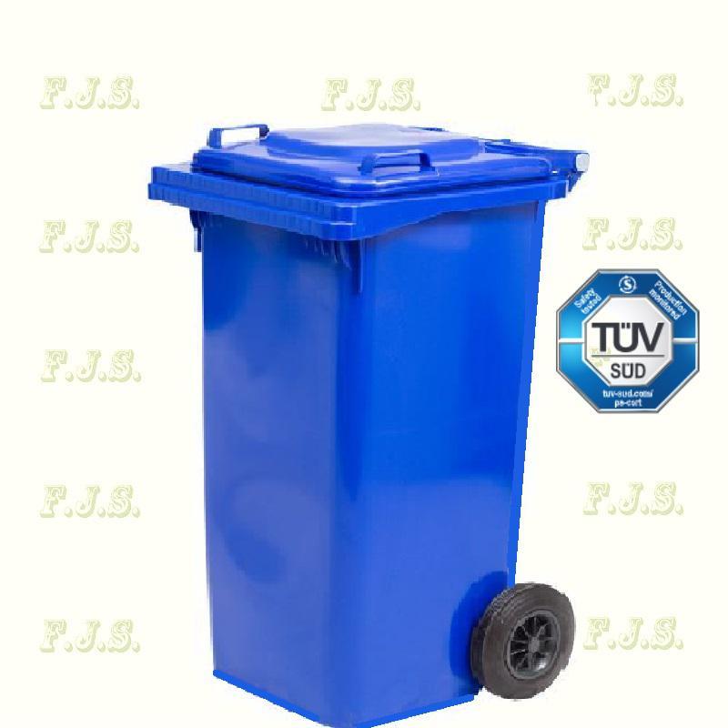 Kuka 240 l. Olasz kék hulladéktároló műanyag 240l. kültéri szemetes