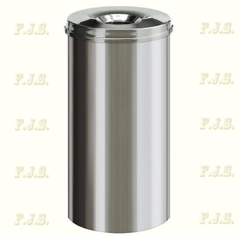 Kuka 50 l. Rozsdamentes acél beltéri önoltó szemetes CE