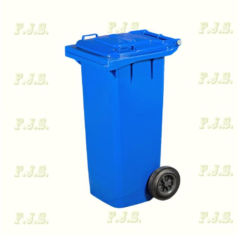 Kuka 80 l. kék hulladéktároló műanyag 80l. kültéri szemetes