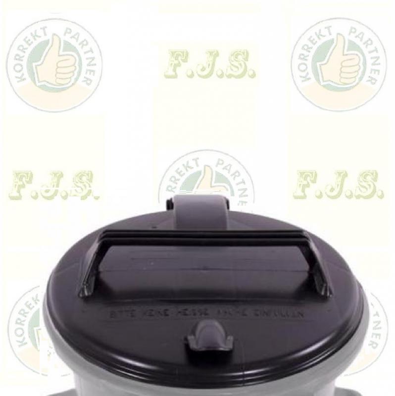Kuka fedél szemetes Hulladéktárolóhoz 50 l. fekete (50l.)