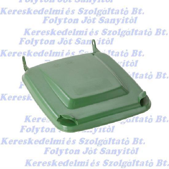 Kuka fedél szemetes Hulladéktárolóhoz zöld 120l. (120 l.)