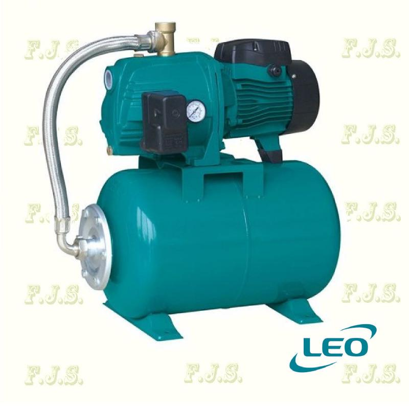 Leo hidrofor AJm 90-24cl 90/55 jet rendszerű, házi vízmű 20l tartály