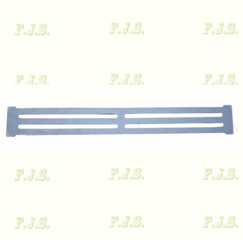 Öntvény rostély, tűzrács 59 x 7,5 cm x 40 mm DT-9 Totya kazánhoz