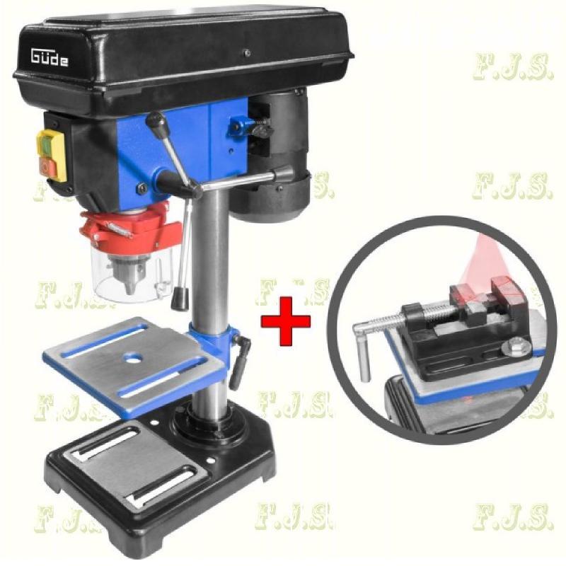 Oszlopos fúrógép + 65 mm-es gépsatu, GTB16 LASER / 550W