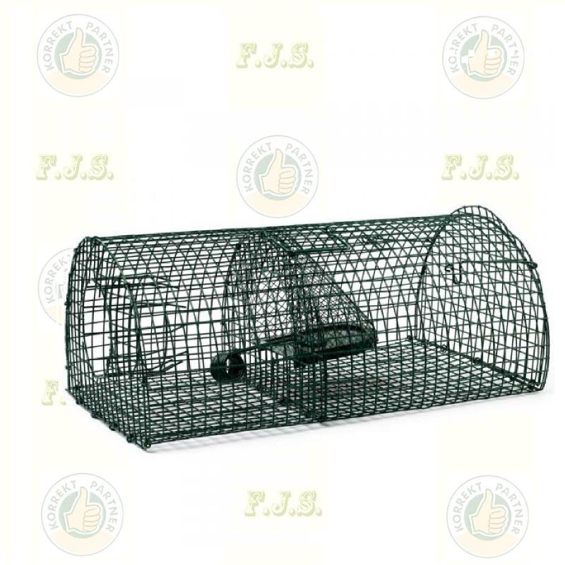 Patkányfogó élvefogó csapda 40 cm íves festett fém (4db/doboz)