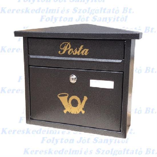 Postaláda Apolló antik ezüst  350 x 280 x 120 mm.