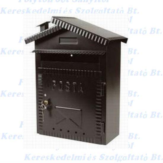 Postaláda házikó jellegű 230 x 360 x 110 mm. IBFM