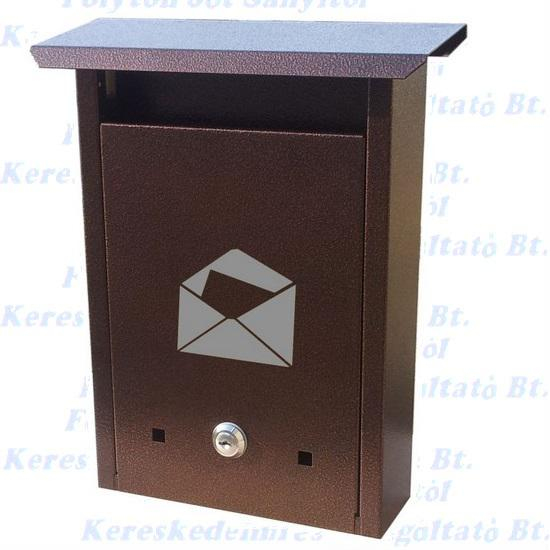 Postaláda klasszik antik bronz  210 x 310 x 70 mm.