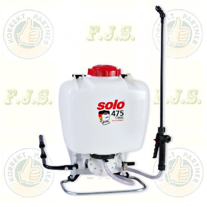 Solo Permetezőgép 475 Classic háti permetező membrános 15 l.