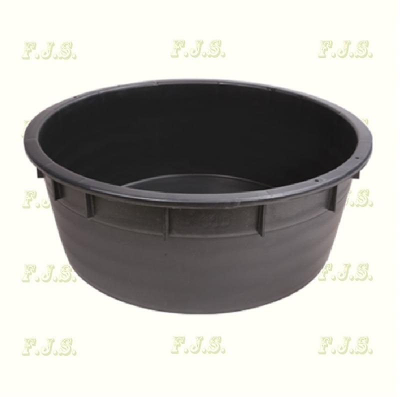 Szüretelőkád univerzális kád 110 l fekete