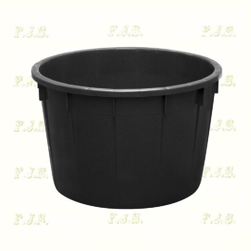 Szüretelőkád univerzális kád 350 l fekete