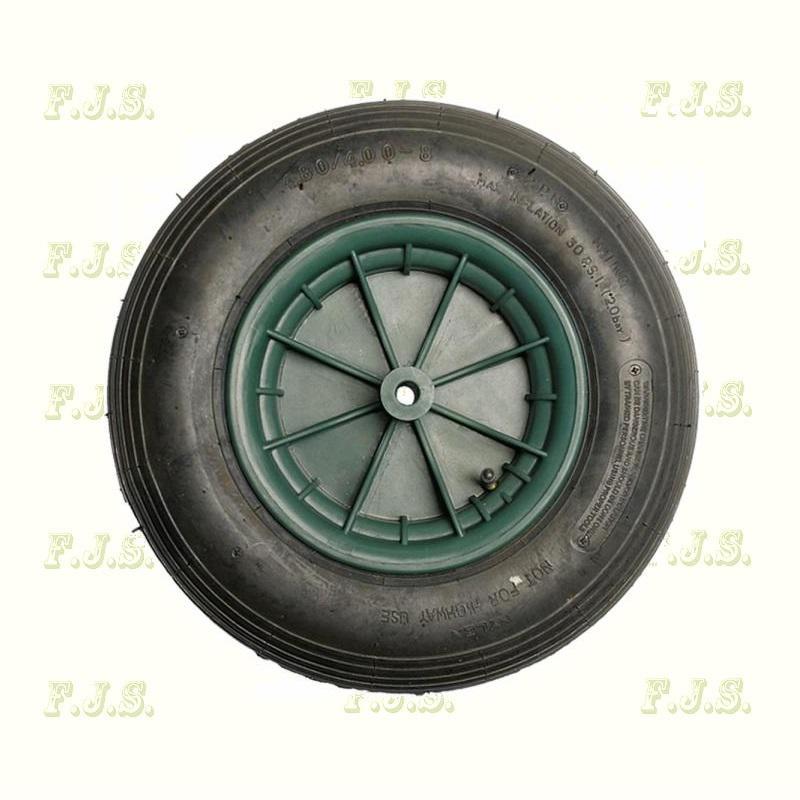 Talicska kerék műanyag felnis pumpálható  3.50-8