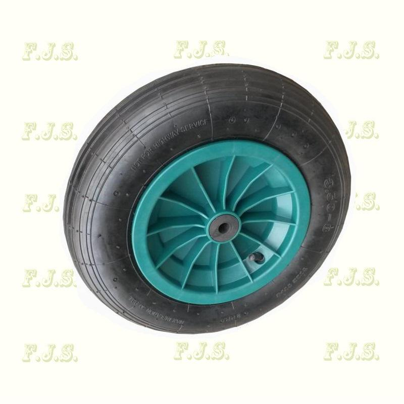 Talicska kerék műanyag felnis pumpálható  4.00-8