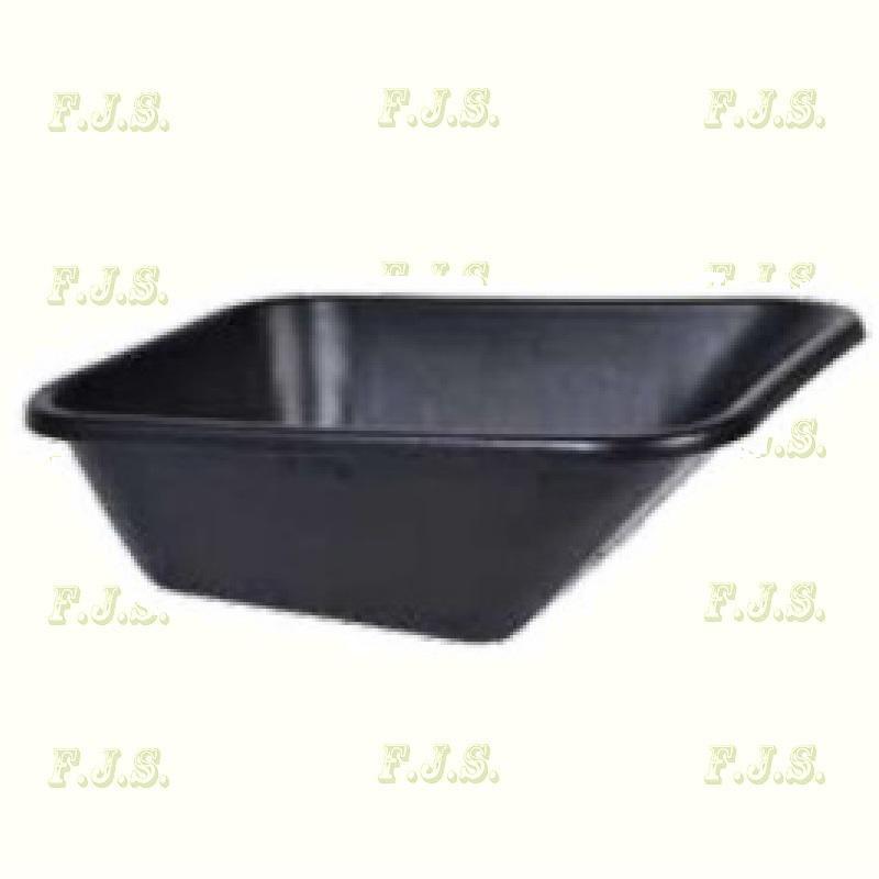 Talicska puttony fekete műanyag 120 l.