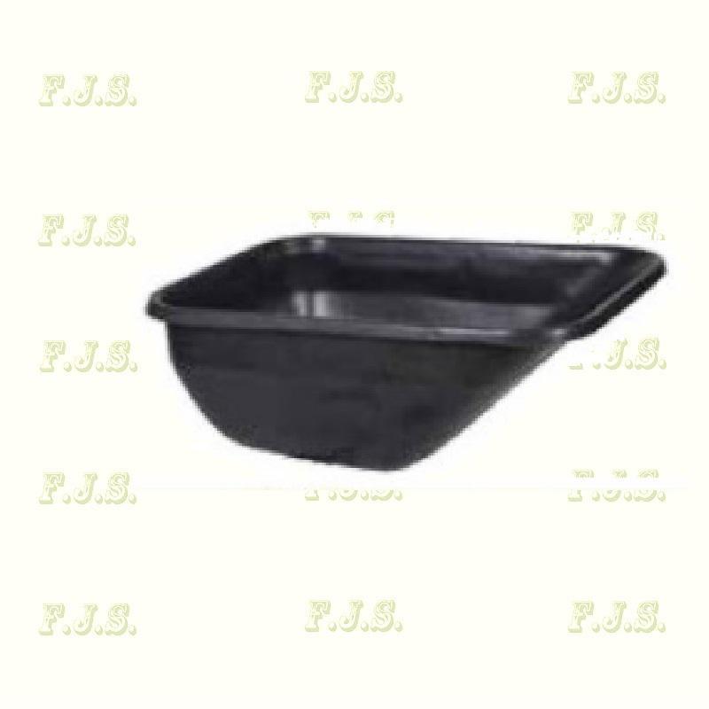 Talicska puttony fekete műanyag 180 l.