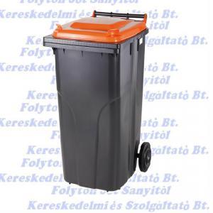 120 l kuka hulladéktároló tetrapack műanyag 120l. kültéri