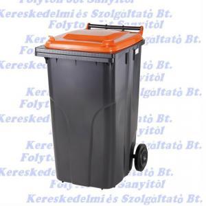 240 l kuka hulladéktároló tetrapack műanyag