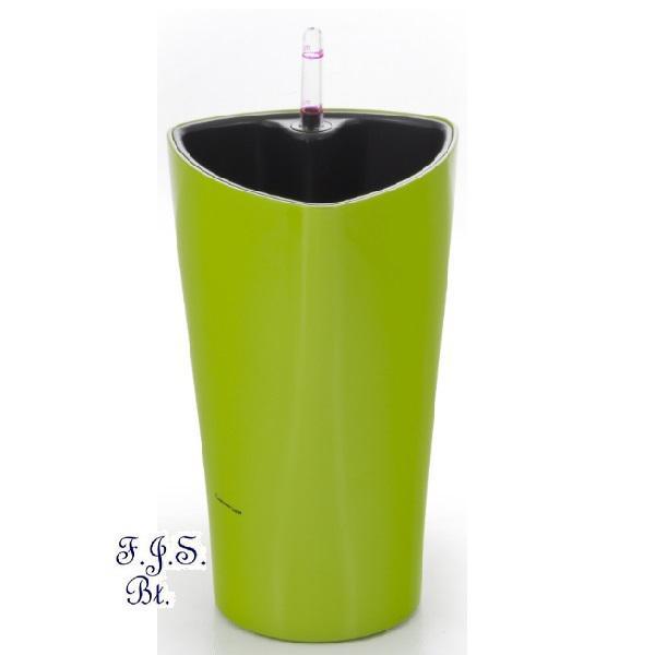 Trio önöntöző kaspó 26 cm, zöld