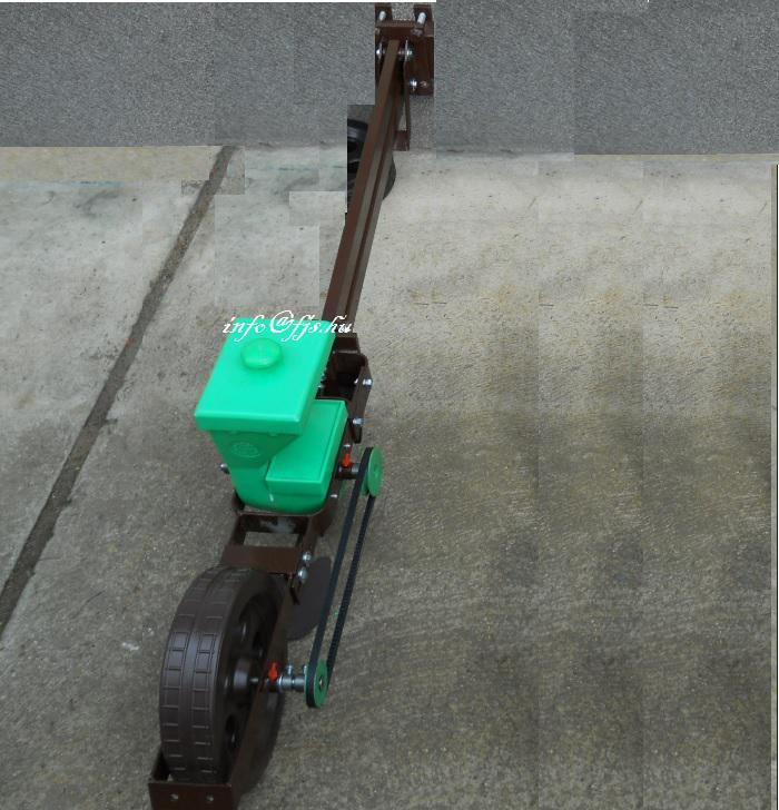 Vetőgép Gépi vetőelem (G-2) csatlakozó felfüggesztéssel