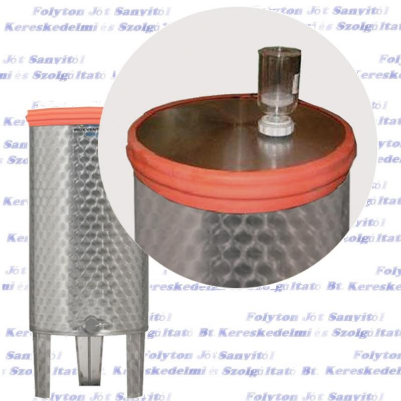 Zottel gumigyűrű erjesztéshez  800-1000L  inox bortartályhoz