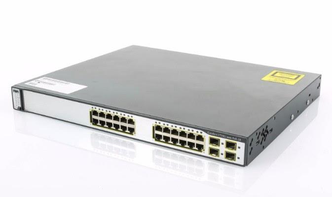 Cisco WS-C3750G-24PS-S (felújított)