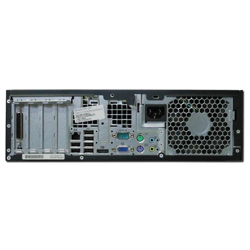 HP 6200 PRO SFF Pentium G 620/4GB/250GB felújított asztali számítógép+Windows 7 Home Premium