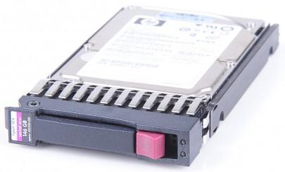 """HP 146 GB 10K SAS 2.5"""" Hot Swap (felújított)"""