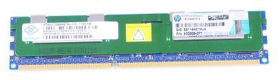 HP 8 GB 2Rx4 PC3-10600R DDR3 RAM Modul REG ECC (felújított)