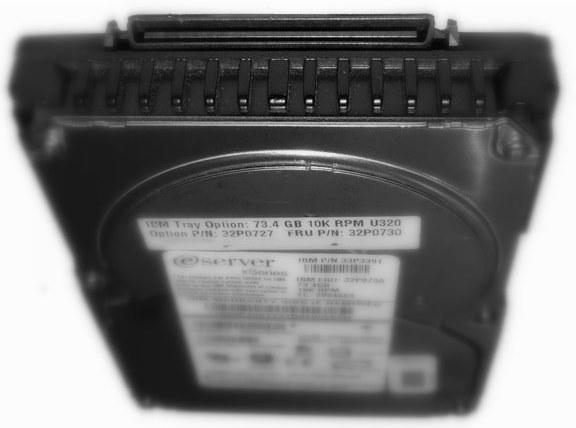 IBM 73GB 10K RPM U320 Hot-swap SCSI HDD (felújított)