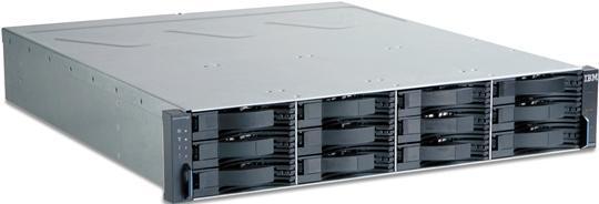 IBM DS3400 storage 4Gb FC csatolással, 8 storage partícióval