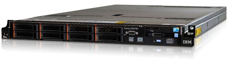 IBM x3550 M4 6 magos szerver - új