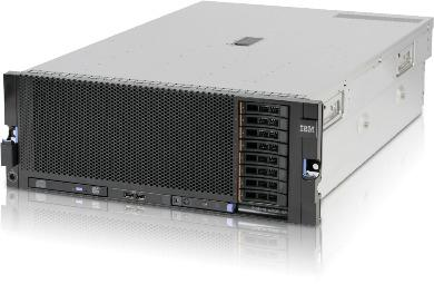 IBM x3850 X5 40 magos szerver (felújított)